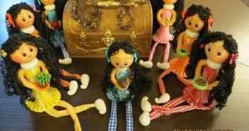 کاردستی هفت سین برای کودکان