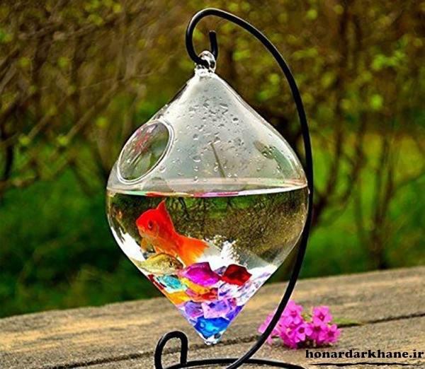 حوض سفالی هفت سین تزیین تنگ ماهی سفره هفت سین با ایده های جدید و زیبا