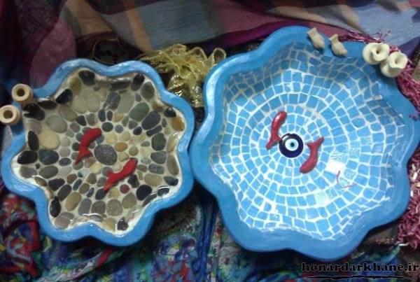 تزیین حوض ماهی برای عید