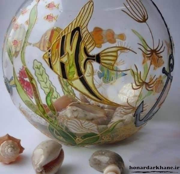 تزیینات تنگ ماهی برای هفت سین