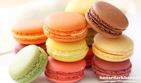 شیرینی ماکارون برای عید نوروز