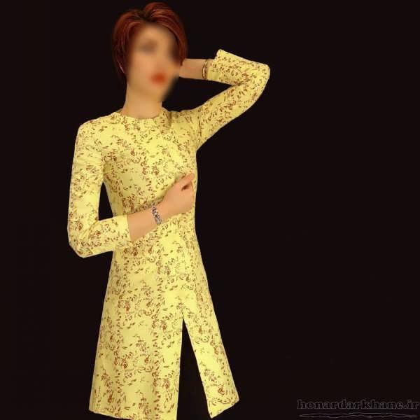 مدل مانتو دخترانه بهاره