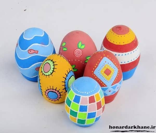 مدل های تخم مرغ رنگی عید