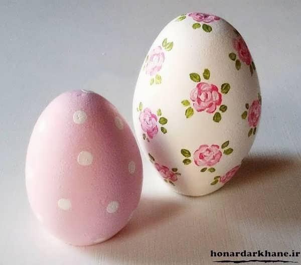 مدل تخم مرغ رنگی عید