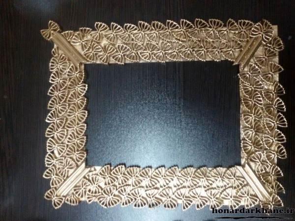 ساخت قاب آینه برای هفت سین