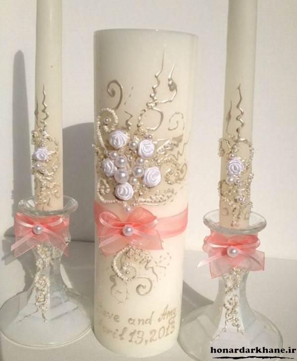 تزیین شمع جدید و زیبا