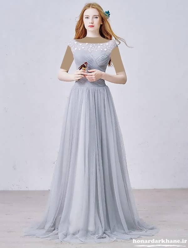 لباس مجلسی بلند حریر