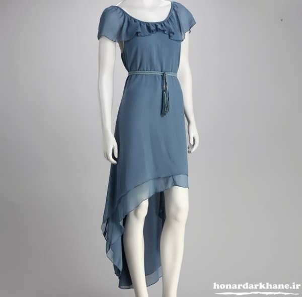 لباس مجلسی حریر زیبا و شیک