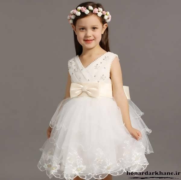 مدل لباس عروس کوتاه بچه گانه