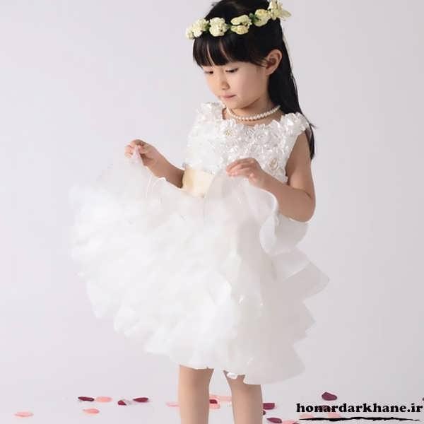 لباس عروس برای بچه ها