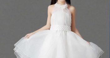 مدل لباس عروس بچه گانه جدید