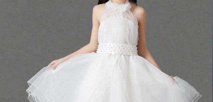 مدل لباس عروس بچه گانه جدید و شیک با دوخت های زیبا