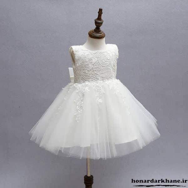 لباس عروس کوتاه پرنسسی