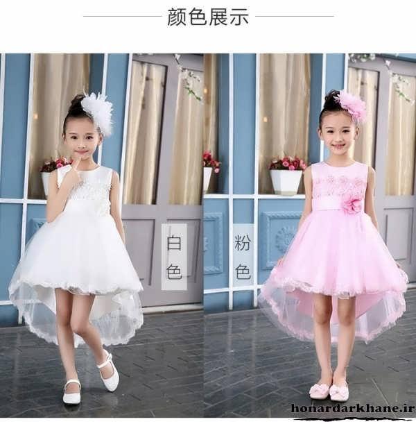 لباس عروس های بچه گانه جدید