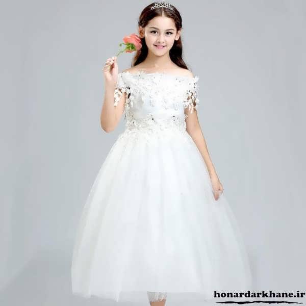لباس عروس پرنسسی برای کودکان