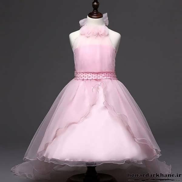 لباس عروس بچه گانه رنگی