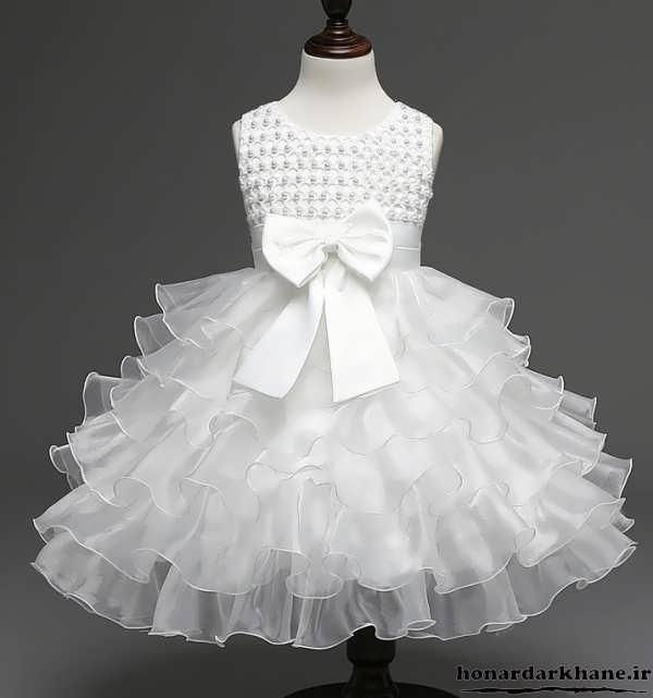 مدل جدید لباس عروس بچه گانه