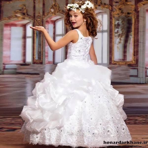 مدل لباس عروس برای کودکان