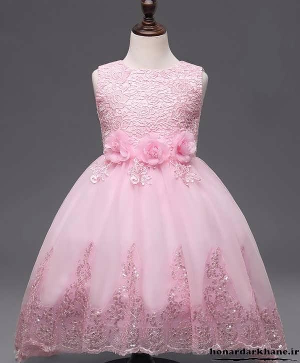 عکس لباس عروس بچه گانه