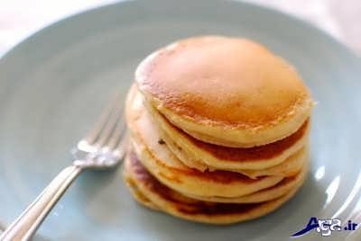 طرز پخت پنکیک برای صبحانه