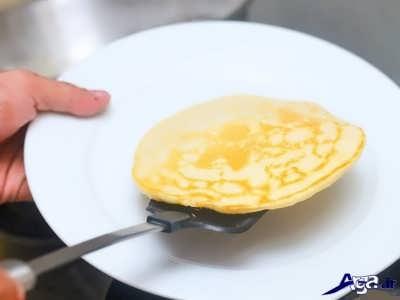 طرز پخت پنکیک ساده و خوشمزه