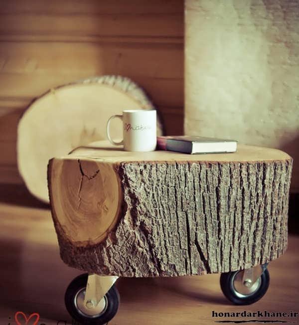 خلاقیت با چوب در خانه