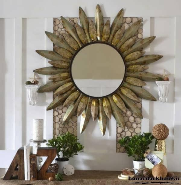 خلاقیت در ساخت قاب آینه زیبا