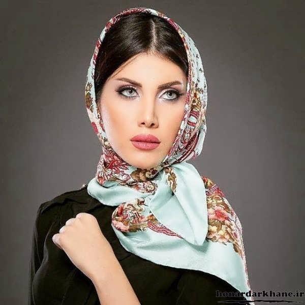 عکس انواع مدل بستن روسری