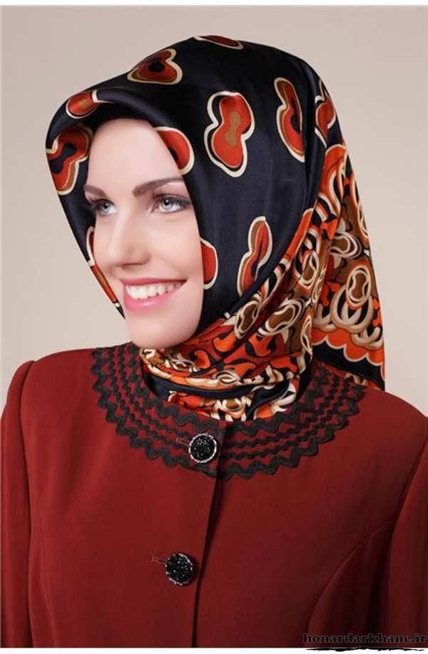 نحوه بستن روسری های مجری صدا سیما عکسهای دیدنی مدل های جدید بستن شال و روسری.