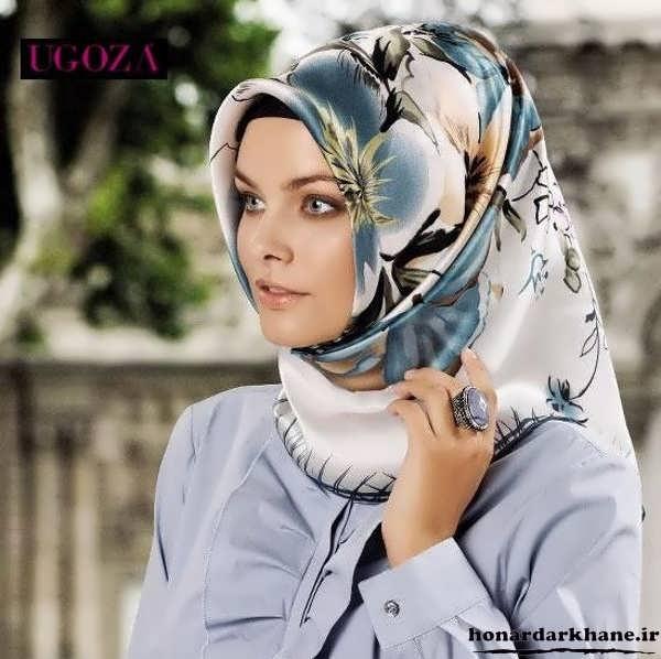 آموزش بستن روسری زنانه