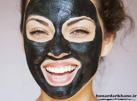 ماسک سیاه برای صورت