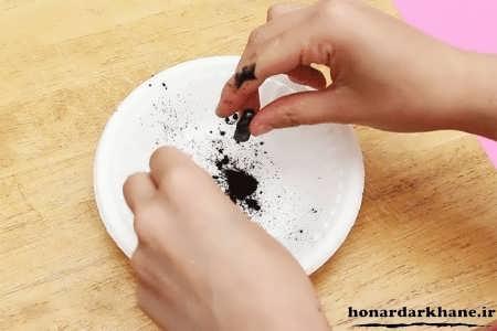 طرز تهیه ماسک سیاه