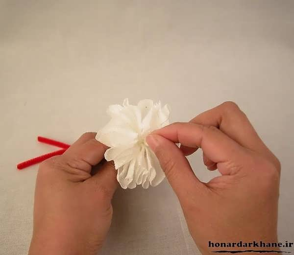 آموزش آسان ساخت گل