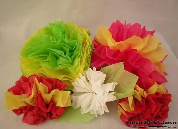 گلسازی با کاغذ