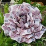 تزیین پول برای کادو به عروس