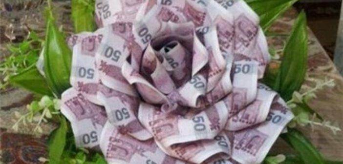 تزیین پول برای کادو و ایده هایی برای تزیین پول شاباش
