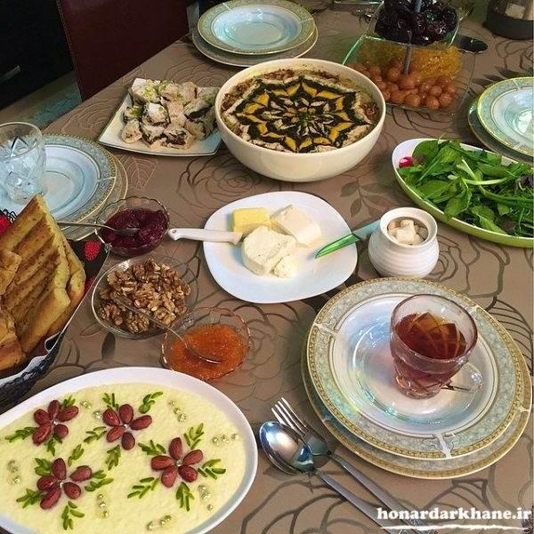مناسب ترین غذاها برای افطار و سحر