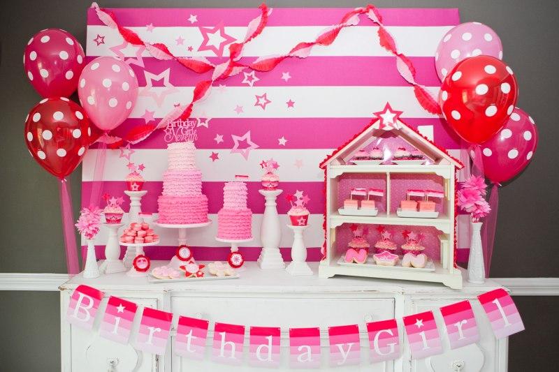 کاردستی های باربی تم تولد دخترانه جدید و زیبا با تزیینات عالی برای جشن تولد ...