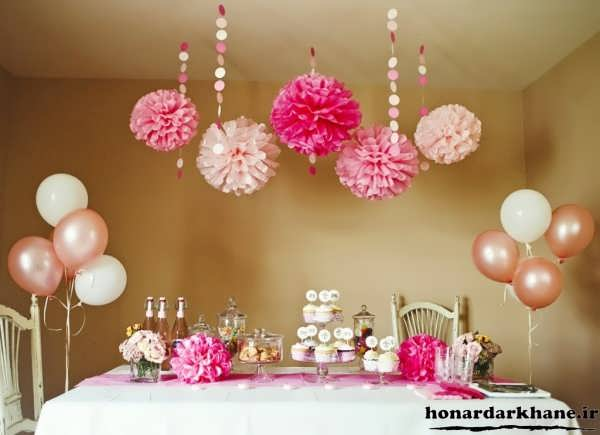 تزیینات جشن تولد دخترانه