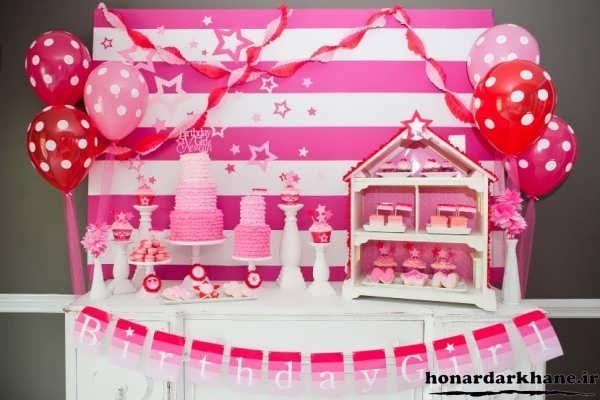 تزیینات جشن تولد با ایده های جدید