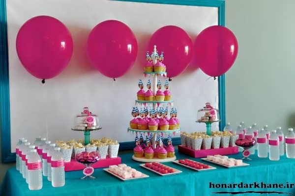 بادکنک آرایی جشن تولد