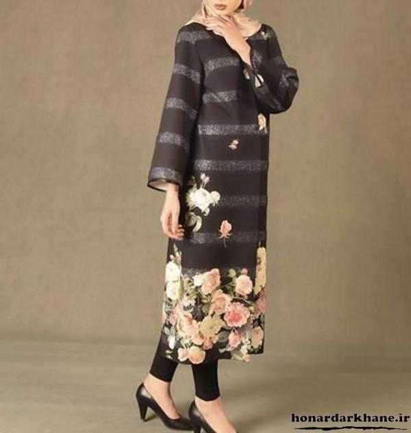 مدل مانتو تابستانه جدید و زیبا