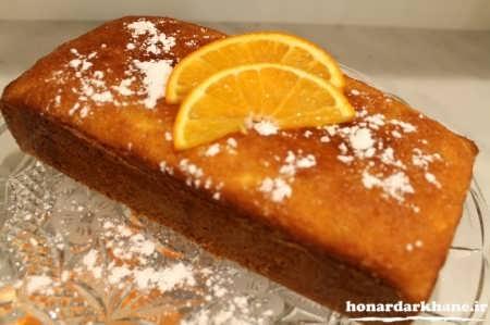 طرز تهیه کیک پرتقالی خانگی