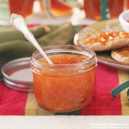 مربای هویج خوش رنگ و خوشمزه