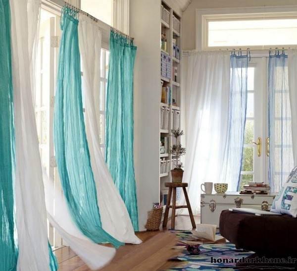 مدل پرده اتاق خواب حریر