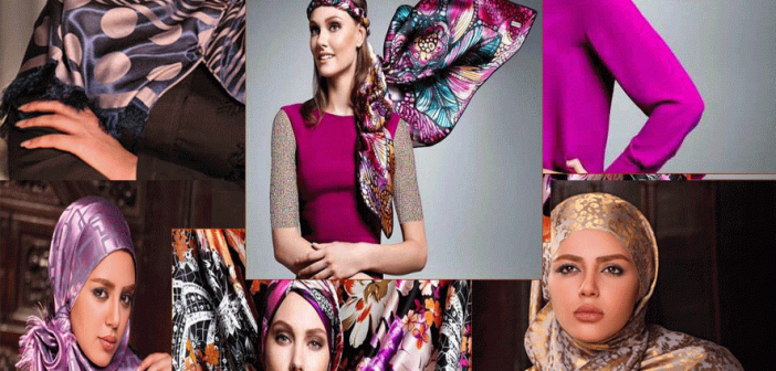 مدل بستن روسری چهارگوش آموزش بستن روسری چهارگوش و مدل های جدید بستن روسری