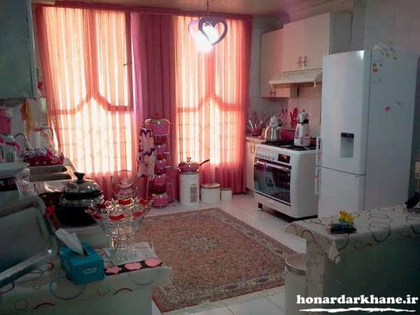 تزیین وسایل آشپزخانه عروس