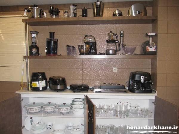 تزیین آشپزخانه جدید و زیبا
