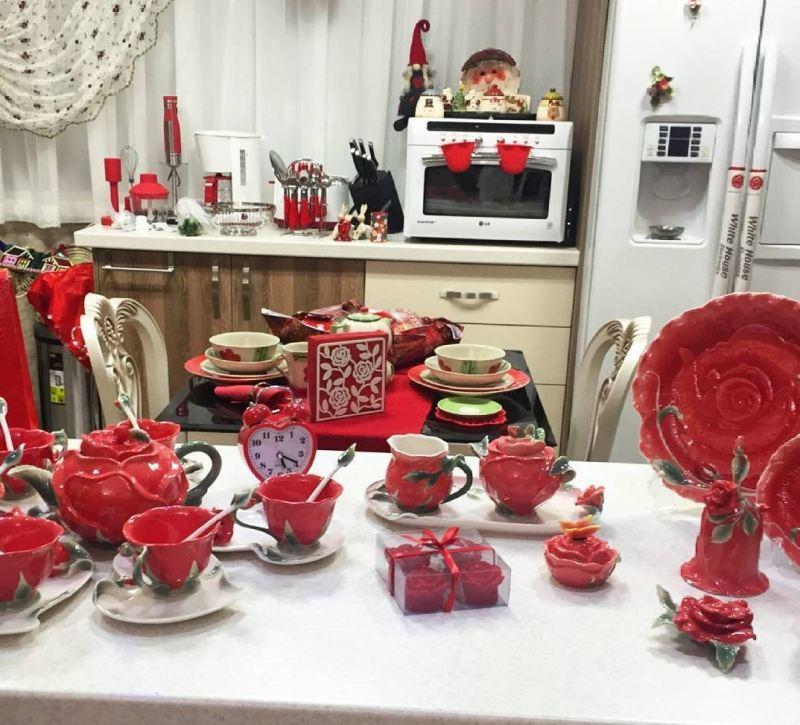 سایت اموزش کیف نمدی شیک تزیین آشپزخانه عروس ایرانی جدید و شیک