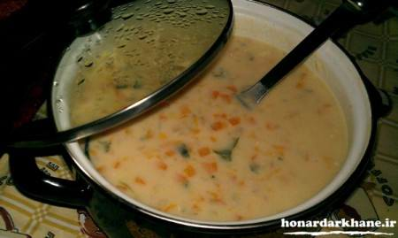 آموزش پخت سوپ جو